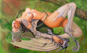 Dying Succubus by borda