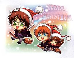 Simple Xmas HP card by lince