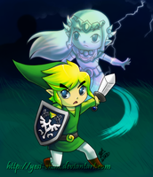 LoZ: Spirit Tracks by yesi-chan