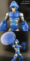 Megaman Marvel Legends part 2 by Jin-Saotome