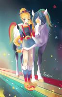 Rainbow Brite by Sugar-Nami