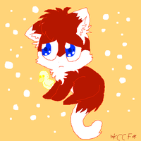 Kitty!Red by CaraTheHedgehog