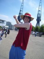 cosplay luffy by palmereap
