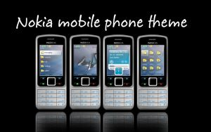 Nokia s40 Fantasia theme by DecoYserbia