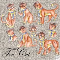 Ten Cat by lizzie9009