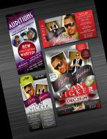 Flyers and Tickets by AnotherBcreation