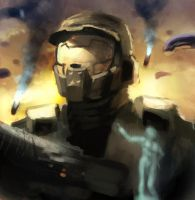 Halo sketch by xavor85