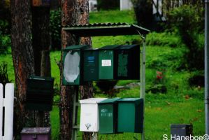 The mailboxes by haneboe
