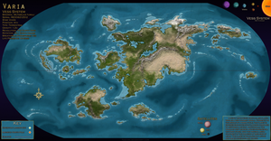 Varia: World Map by Naeomi
