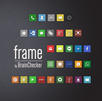 Frame Icon-Pack 1.1 (31 Icons) by BrainChecker
