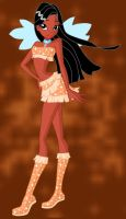 disney winx Pocahontas by Willemijn1991