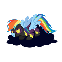 Rainbow Dash(nightmare Night) by sakatagintoki117