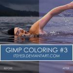Gimp Coloring 3 By Itsyesi by itsyesi