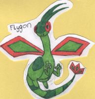 Art Request- Flygon by Nabooru16