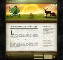 Artemis Farm - Web Design by son-of-a-biscuit