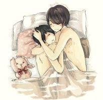 Kyumin: Sweet dreams by Fuko-chan