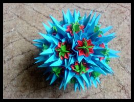 Kusudama 14 by lonely--soldier