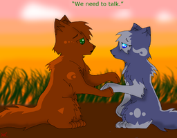We Need To Talk by fluffyattackify