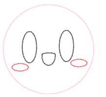 Kirby Outline by HeartKirby