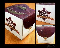 A Magical Christmas Log Cake Box by charz81