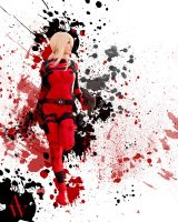 Lady Deadpool IV by Black Cat by AndyWana