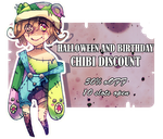 CHIBI DISCOUNT | 3$ CHIBIS [CLOSED] by hot-blood-artist