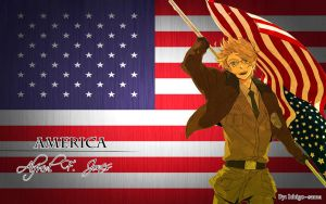 America wallpaper by Ichigo--sama