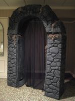 The Death Chamber Veil and Archway for MISTI-Con by Thom-Heap