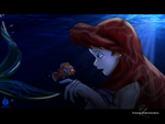 Ariel meets Nemo by Venetia-TH