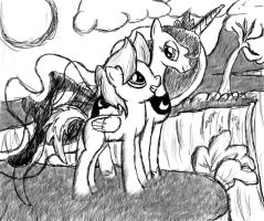 Inverso and Luna by Lethal-Doorknob