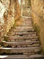 Old Stairs by KatZivkovic