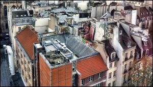 Roofs of Paris - 4 by SUDOR