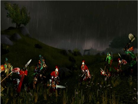 Conflict's through Azeroth: Arathi Highlands. by Lenthall
