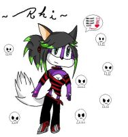 Rhi the cat by emo2the3fox
