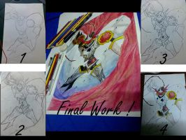 Gallantmon / Dukemon (Process) by DarkWolf2011-2012
