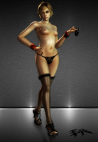 SH3 - Heather Nude (Update) by IIReII