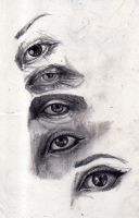 Eye Study by The-Infamous-MrGates