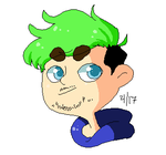 A Green Haired Nerd by AbandonedShip