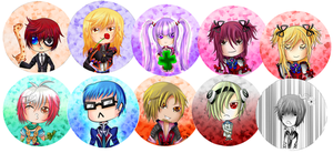 Tales of Graces Buttons by RollingTomorrow