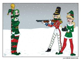Holiday Target Practice by Yes-I-DiD