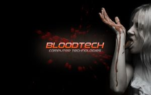 Bloodtech Bloody Wallpaper by BloodTheChosen