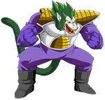 Oozaru Vegeta(The Joker) by EliteSaiyanWarrior