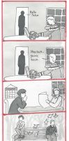 BBC Sherlock Comic: wait..... by Graphitekind