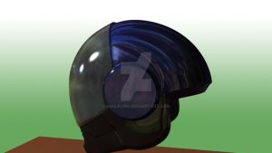 Helmet 09 08 -shader test by gaelfling