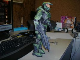 Papercraft Master Chief 2 by Esteban1988