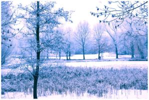winter landscape by ElArmana