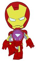 Chibi: Iron Man by animereviewguy