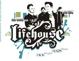 Lifehouse Group Vector by kaliko-rosa