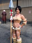 Me as Nidalee Acen 2014 also No Parking by Cyberkitty5
