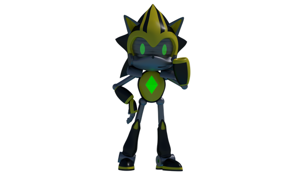 Shard The Metal Sonic: Hello World ! by Rotalice2